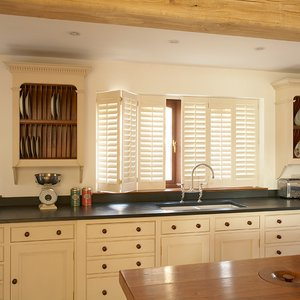 New England Kitchen shutters