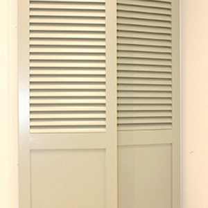 Tnesc Fixed blades painted shutter