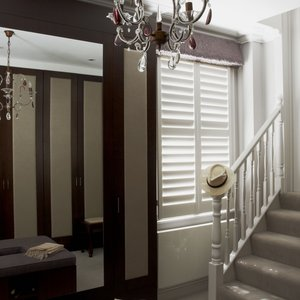 painted-hallway-shutters