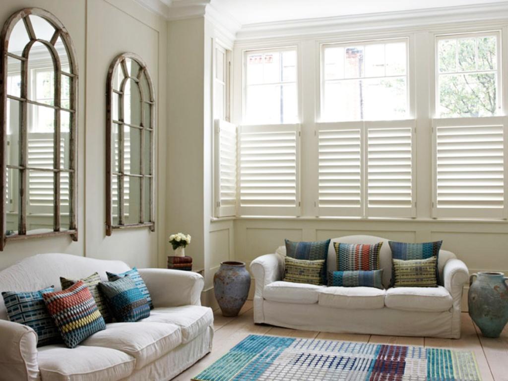 Bespoke Living Room Shutter Gallery | TNESC | London