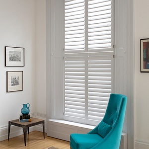 Tnesc New York painted Tier on Tier living room shutters 99 mm blades