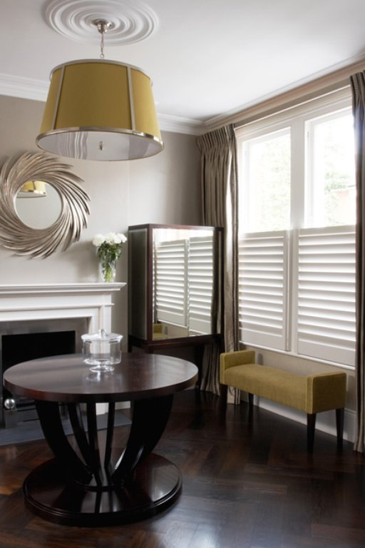 Half Plantation Shutters - Café Style Shutters | TNESC London