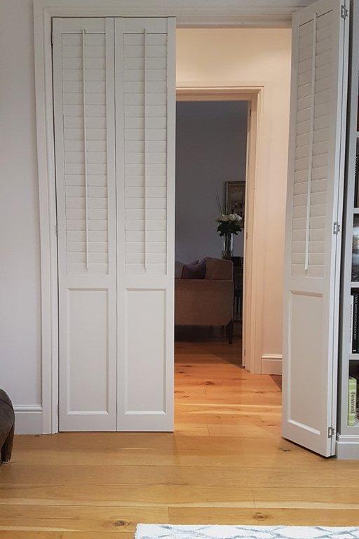 Solid wood shutters victorian shutters tnesc - Unfinished wood shutters interior ...