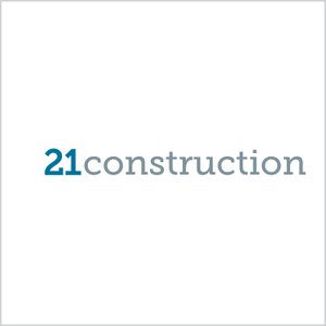21 Construction Logo