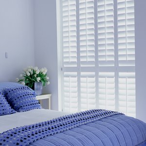 painted-white-bedroom-shutters