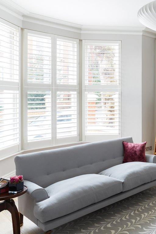Living Room Shutters Buy Lounge Shutters TNESC London
