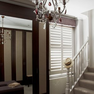 hallway-painted-shutters