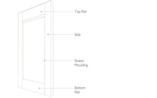 tnesc Solid shaker shutters technical drawing
