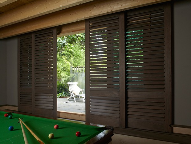 HIghline shutters look great in a games room