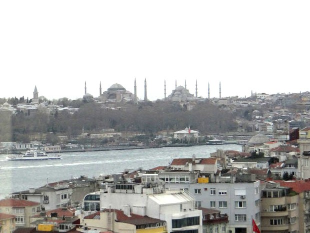 Istanbul, view from apartment