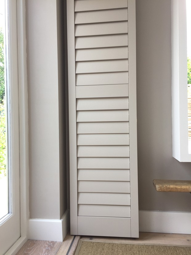Colour matched shutters