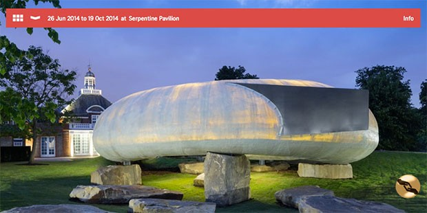 Serpentine Gallery Pavilion, by Smiljan Radic