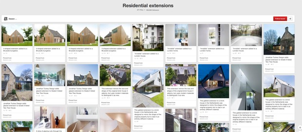 Dezeen Pinterest board