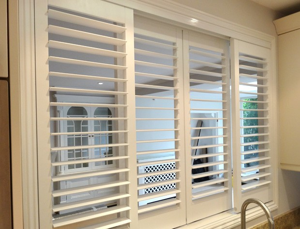 Shutters Installed In Serving Hatch