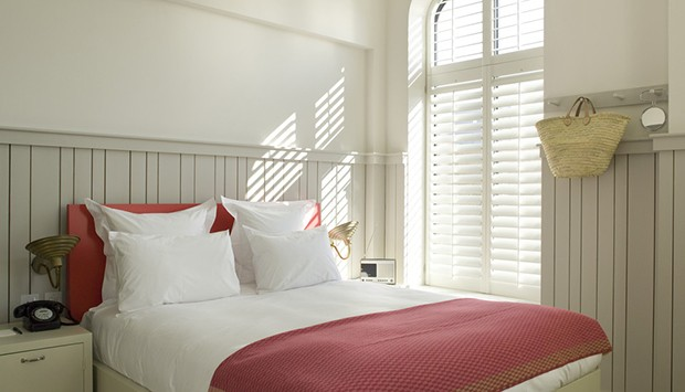 Shutters in shoreditch House, London