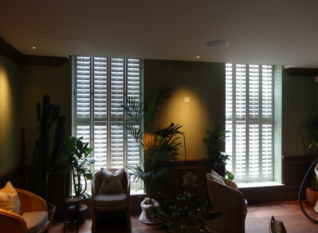 New England Shutters at the South Kensington Club