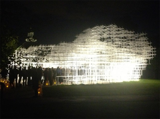 World of Interiors party at The Serpentine Gallery, London